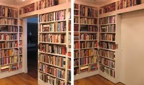 Bookcase Plans With Doors Diy Sliding Bookcase Viverati