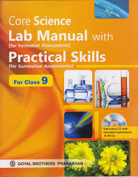 Core Science Lab Manual With Practical Skills As Per Cce Buy
