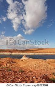 stone desert red stone desert and the blue water red stone desert and stock