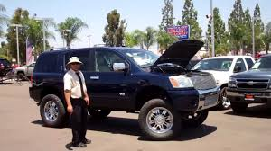 nissan armada off road 110668 lifted 2006 nissan armada sport se youtube
