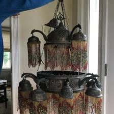 Beaded Chandelier Etsy Boston Ma Usa Apartment Therapy Marketplace Classifieds