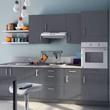 peinture pour cuisine grise stunning meuble de cuisine gris brillant photos design trends 2017