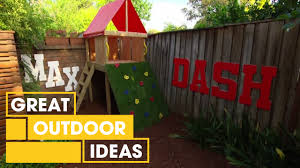 Outdoor Ideas How To Make A Compact Kids Courtyard Outdoor Great Home Ideas