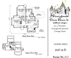 storybook cottage floor plans storybook homes plan sets of our storybook cottage house plans new custom homes in maryland authentic storybook homes in