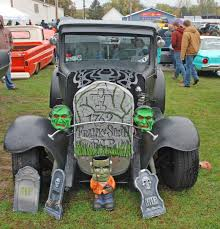 ghosts monsters strange cars and other halloween creatures haunt