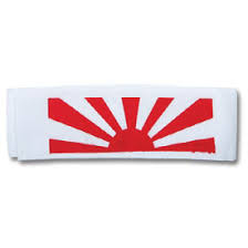 rising sun headband japanese rising sun headbands band