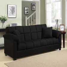 minter upholstered sleeper sofa bed couch convertible futon modern
