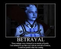 Mass Effect Meme - betrayal mass effect 3 endings reception know your meme