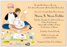 couples baby shower invitation for baby shower awesome couples baby shower invitation
