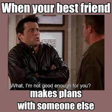 Makes Memes - best friend makes plans with others funny pictures quotes