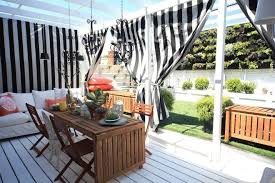 Outdoor Sheer Curtains For Patio Patio Curtains Outdoor How To Customize Your Outdoor Areas With
