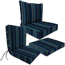 outdoor seat cushion collection in sunbrella stanton lagoon bed