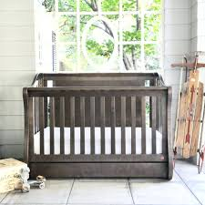 Baby Cribs With Changing Table Attached Baby Crib With Changing Table Relax 2 In 1 And Combo Gray