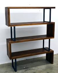 Metal Bookcases Bookcase Wood And Metal Bookcase Uk Distressed Wood And Metal