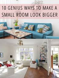 How To Make A Small Bookshelf 10 Genius Ways To Make A Small Room Look Bigger Small Rooms