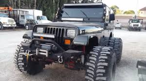 1994 jeep wrangler specs 1994 jeep wrangler 4 0 yj 4x4 lifted for sale photos technical