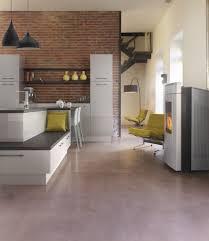 revetement sol cuisine quel revêtement de sol choisir pour une cuisine moderne le