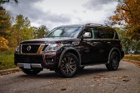 nissan armada review 2017 nissan armada platinum canadian auto review