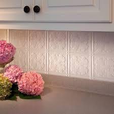 fasade 24 in x 18 in traditional 10 pvc decorative backsplash
