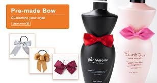 wine bottle bow pre made bottle neck bows wine bottle bow tie decoration ribbon