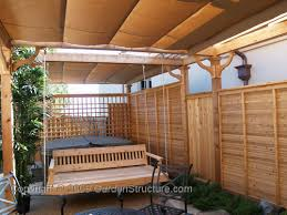 retractable canopy pergola outdoor goods