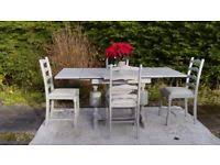 shabby chic dining tables u0026 chairs for sale gumtree