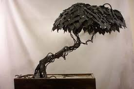 metal sculpture steel tree 2 by jason houchen