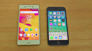 sony xperia x vs iphone 6s review u0026 camera test 4k youtube