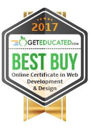 online design of certificate best buys 32 affordable online web design certificate programs