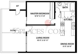 coronado floorplan 675 sq ft laguna woods village 55places com