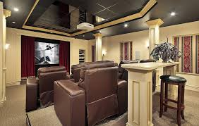 Home Theater Interior Design by Home Theater Installation Houston Home Cinema Installers