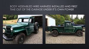 jeep station wagon for sale willys truck restoration beginning to end youtube
