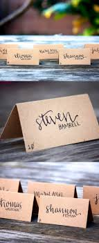 best 25 diy wedding place cards ideas on diy place