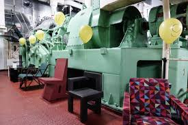 object rotterdam cutting edge design in a 1950s ocean liner