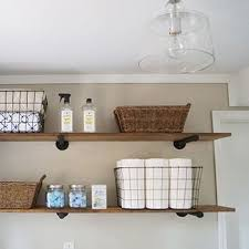 Make Wood Bookshelf by Best 25 Laundry Room Shelves Ideas On Pinterest Laundry Room