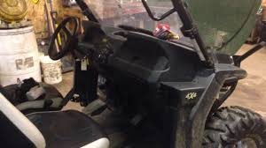 2013 john deere gator rsx850i electrical problems youtube