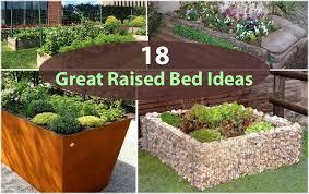 Garden Beds Design Ideas Raised Bed Design Ideas Beautiful Fall Raised Herb Garden Beds