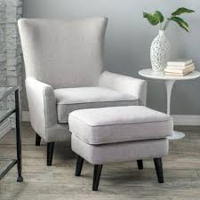 Armchair Ottoman Design Ideas White Chair With Ottoman Style Lounge Chair And Ottoman White