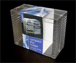 plastic cd holder acrylic cd display acrylic cd storage acrylic