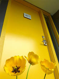 shades of orange colour popular colors to paint an entry door diy
