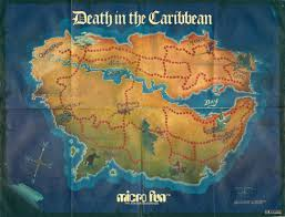 Caribbean Map by Death In The Caribbean Map U2013 The Workbench
