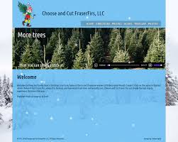 launch site choose and cut fraserfirs llc new website