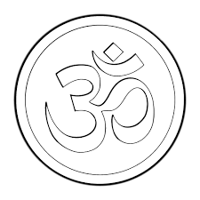 om mandala coloring pages drawn sykol symbol name pencil and in color drawn sykol symbol name