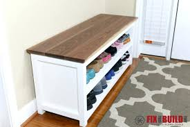 how to make entryway bench how to build a bench seat with shoe storage floorganics com