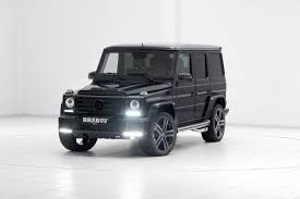 mercedes benz jeep matte black brabus chisels up the mercedes benz g500 v8 turbo