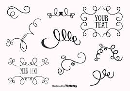 free ornaments set vector free vector stock