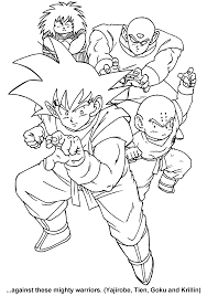 printable 52 dragon ball z coloring pages 5389 dragon ball z