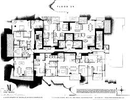 floor plan agreement the mark floor plans scott finn u0026 associates