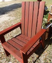 Wood Outdoor Chair Plans Free by Ana White Simple Outdoor Chair From Book Plan Diy Projects