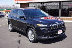 2015 jeep cherokee light bar 2015 jeep cherokee 4x4 limited 4dr suv in kenton oh ricks auto